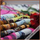 "Digital Printed Silk Fabric Factory Direct Custom 8mm Silk Chiffon Fabric 45"""