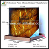 12x12 Marbling post bound self adhesive/sticky photo album(20 sheets) with box