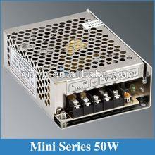 50W 5v mini-size adapter MS-50-5 mini power supply 5v 12v 15v 24v