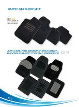 2014 New design car floor mat/ PVC car mat/ black car floor mats