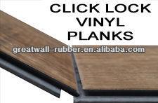 5mm laminate vinyl flooring click lock vinyl plank flooring