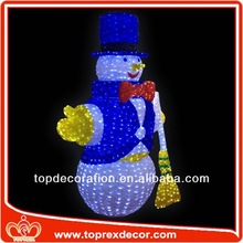 Elegant LED Lighting outdoor inflatable snowman