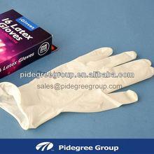 latex disposable/examination gloves