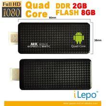 New Unique Design Rk 3188 Intelligent Quad-Core Android 4.2 Mini Tv Dongle