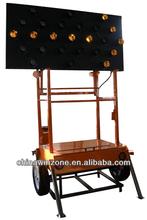 trailer mounted led solar arrow board