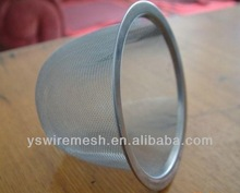 stainless steel mesh strainer tea