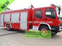 4x2 6m3 water tender fire truck 0086-13635733504