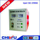 CE ROHS approved single phase relay type electrical 5000 watt ac automatic voltage regulator