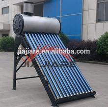 EN12975 approved copper coil solar water heater, pre-heated solar water heater