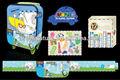 El diseño de su propia de los niños pequeños de la escuela de espalda packtravel fácil de la carretilla equipaje de viaje bolsa para niños niñas- gh11015