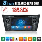 nissan x-trail 2 din car dvd car radio with gps bluetooth tv ipod