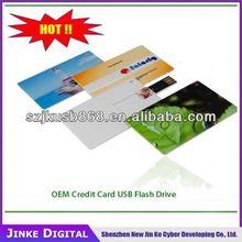2015 promotional super thin card type usb flash drive ,gift business card usb flash drive bulk cheap memory stick usb