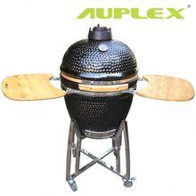 Auplex 21 inch outdoor clay oven smoker kamago bbq grill bbq pork rib