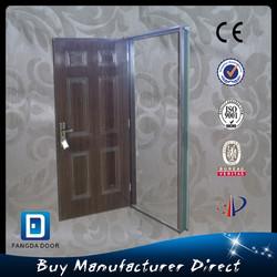 American entry steel wooden door