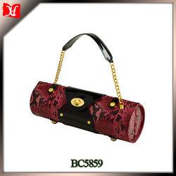 Custom faux PU leather wine carrier luxury leather wine bag carrier bottle leather wine carrier