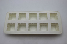 3d square shape pop up silicon ice molds/ice tray/chocolate mould for christmas