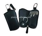 Fashionable Unique Leather PU Zipper Keyring Holder