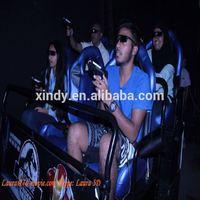 Hydraulic&electric system 6 dof x ride 3d 4d 5d 7d 9d cinema