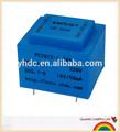 montagem pcb transformador de 220v 12v série ei encapsulado