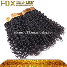 Top grade Unprocessed afro wave cheap hair bundl Virgin brazilian human hair