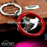 ornaments hanging buckle accessory steering wheel Metal keychain key ring key chain