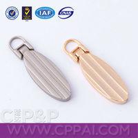 Gold Silver Zipper Puller Zipper Fasteners for Boots