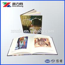Custom cheap hard cover advertising catalogues leaflet printing; brochure printing