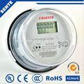 Dds7666 solo- fase dos- alambre electrónico de vatios- hora medidor de potencia wifi