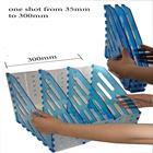 foldable plastic divider A4 desk top archive acrylic folder holder magazine rack