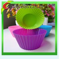 Top Quality Eco-friendly Food Grade Soft Silicone Molds Cupcake