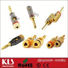 2mm banana socket and plug UL CE ROHS 298
