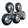 monter les escaliers de roue en caoutchouc solide roue 3 roue