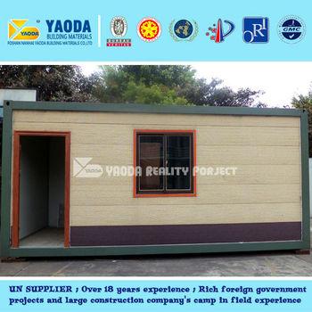 18years & UN supplier--20feet Container House -- meet The German standard
