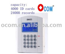 RFID card time attendance by tcp/ip connect OTA651