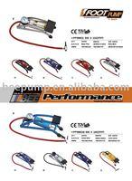 Foot tire pump