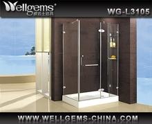 WELLGEMS All stainless steel Bathroom Shower Box WG-L3105 Shower Room