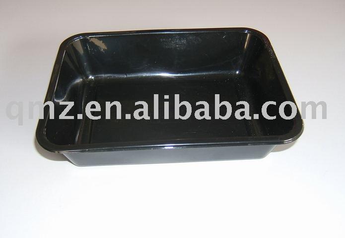 Plastic food tray