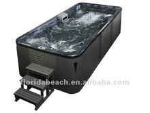 Germany Standard Approved Pool,whirlpool spa, 5.2 meter LED Jets Swim Spa