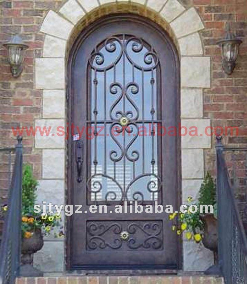 Nuevo espect culo principal modelos de puertas de hierro for Modelos de puertas de hierro con vidrio