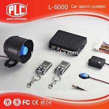 wide detect angle PLC One way car alarm L-6000