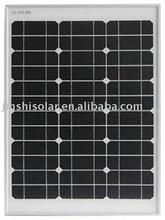 50W mono solar panel for solar system, solar light