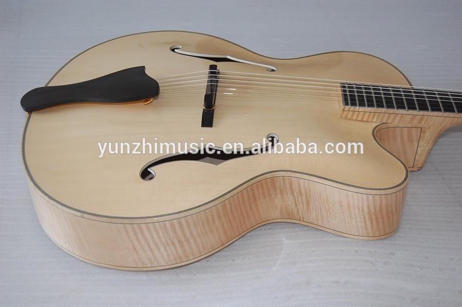 Archtop Jazz Guitar Kit Body Archtop Jazz Guitar