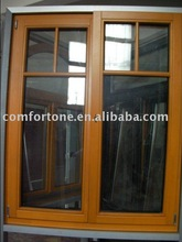 wood french windows