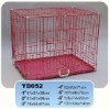 Stronger wire gauge foldable wire dog cage animal cage folding animal cage