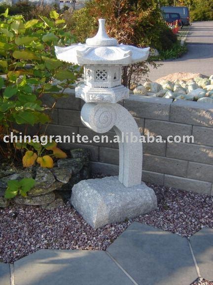 Japonais lanterne de jardin en granit produits en pierre jardin id du produit 269474415 french - Grande lanterne de jardin ...