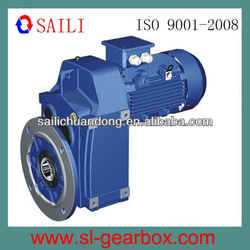 F series flange mounted parallel shaft gear box