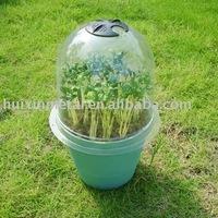 plastic dome cloches plastic garden cloche HX35011N