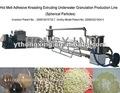 Meilleure qualité snl-500 pétrissage. extrusion granulator granulateur pellets