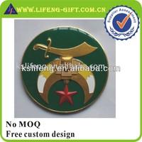 Masonic aluminum Auto Emblem
