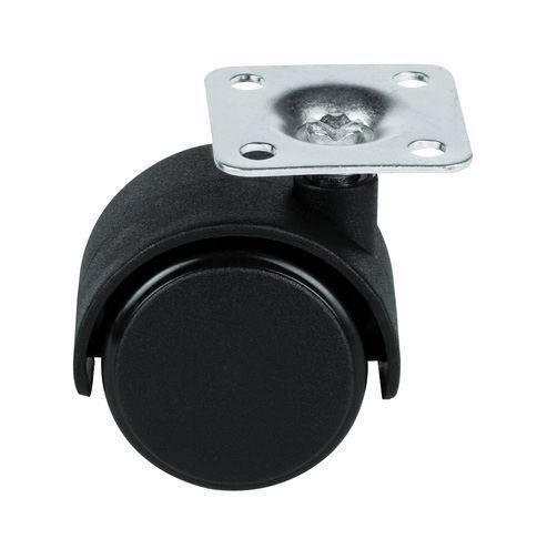 Caster JP Series Small Swivel Plastic Locking Nylon Furniture Caster